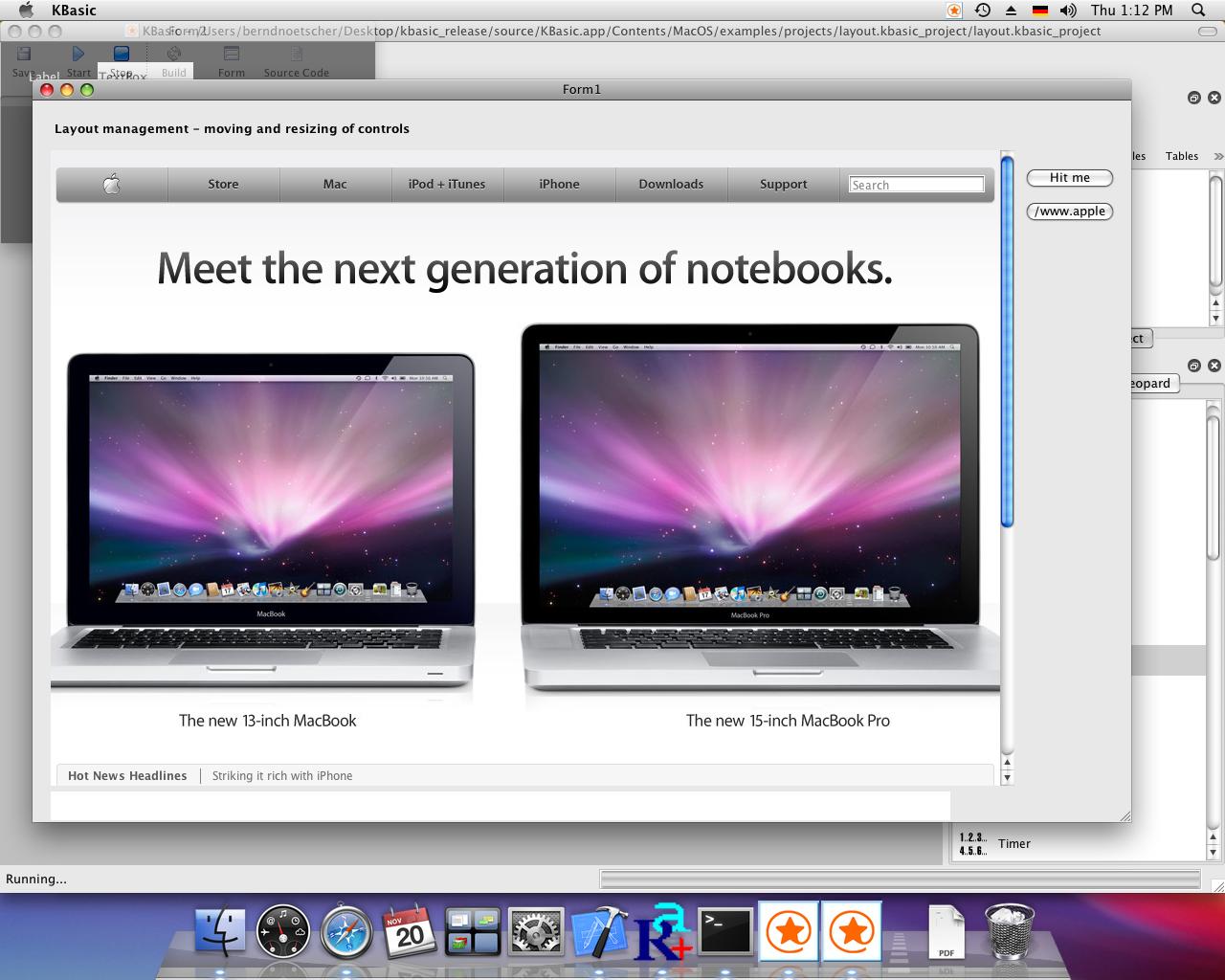 KBasic For Mac