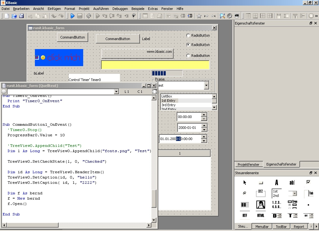 i do not use basic anymore except autoit so it would be cool to see what you basic programmers think of this - Visual Basic Beispiele